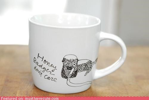 coffee mug cup honeybadger mug - 4900249088