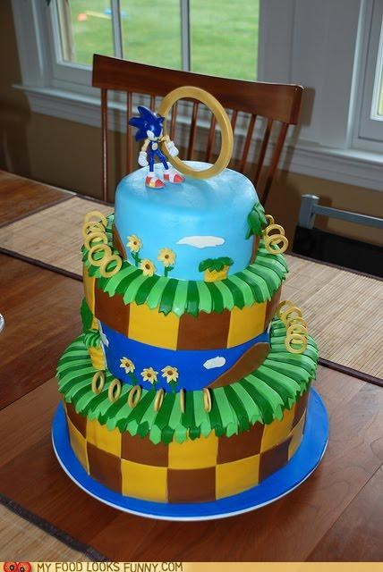 cake hedgehog sega sonic video game