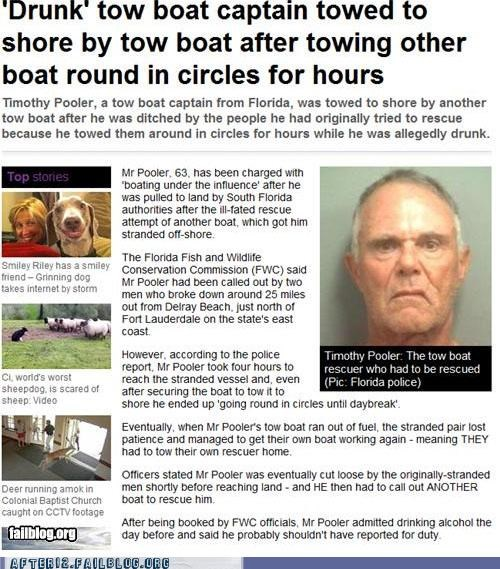 boat drunk news towing - 4900295936