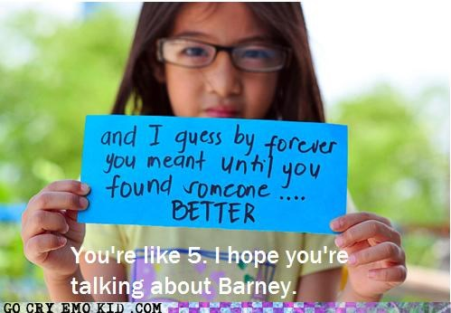 5 barney dating kid weird kid wtf - 4900356352