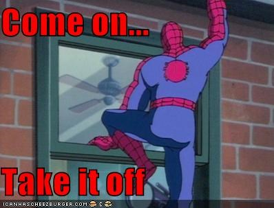 creepy peeper Spider-Man Super-Lols voyeur - 4900382720