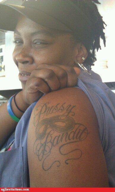 arm tattoos bandits masks - 4900438784