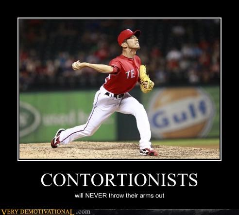 baseball,contortionists,hilarious,wtf