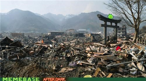 angry birds animemes godzilla IRL Japan Memes pig video games - 4901096192