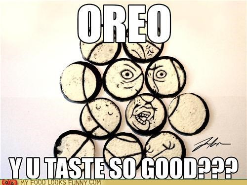 art,drawing,Oreos,Y U No Guy