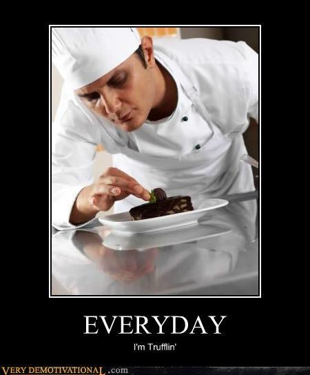 chef,everyday,hilarious,shuffle,truffle