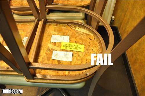chairs directions failboat g rated notes school signs warning - 4901717504