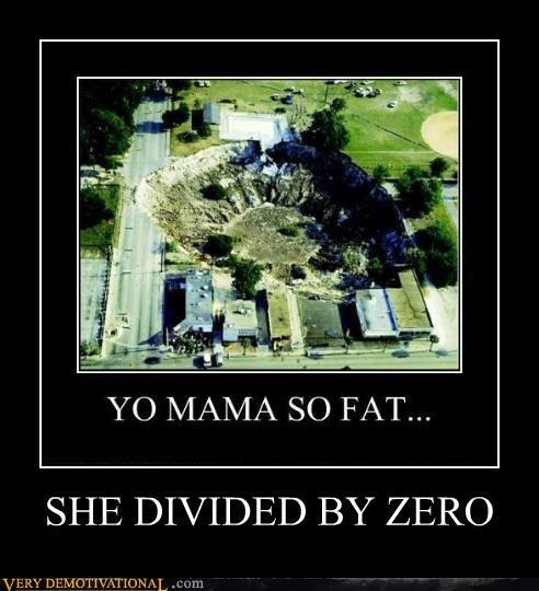 divide by zero Hall of Fame yo mama - 4901911296