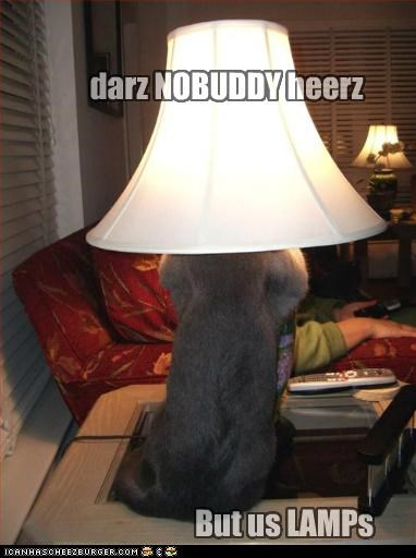 darz NOBUDDY heerz But us LAMPs