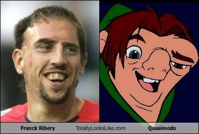 Franck Ribery Totally Looks Like Quasimodo