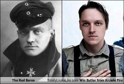 Arcade Fire,Hall of Fame,musicians,red baron