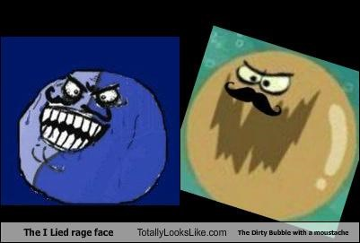 cartoons rage faces SpongeBob SquarePants - 4902743296