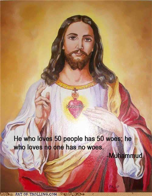 buddhism christianity jesus misquotes muhammud - 4902864128