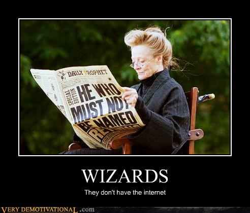 Harry Potter hilarious internet wizards - 4902870528