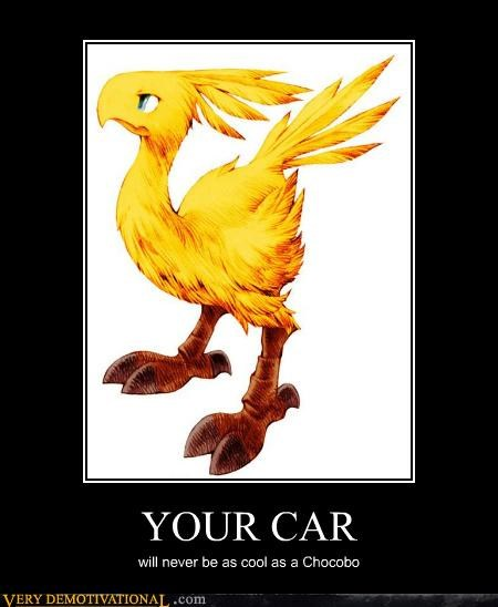 car,chocobo,final fantasy,Pure Awesome,video games