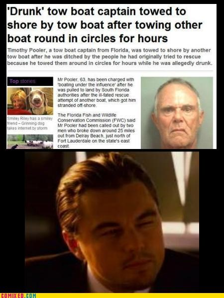 captain From the Movies Inception leonardo tug boat - 4903263488