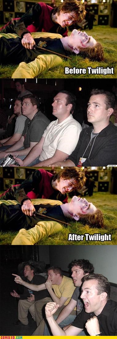 cedric diggory Harry Potter reaction guys robert pattinson twilight - 4903340288