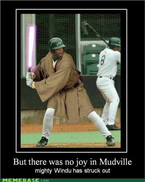 baseball childrens-story hilarious Mace Windu mudville - 4903366912