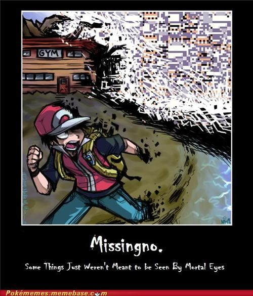 glitch missingno pokeball red