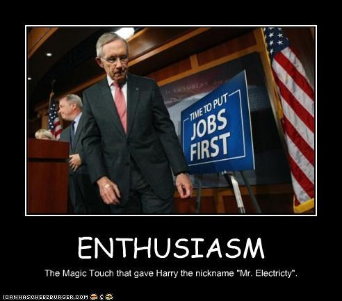 """ENTHUSIASM The Magic Touch that gave Harry the nickname """"Mr. Electricty""""."""