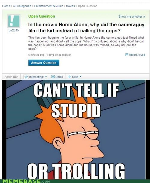 camera guy,Home Alone,movies,Yahoo Answer Fails