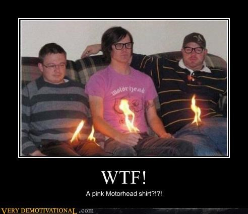 creepy crotch fire hilarious Motörhead shirt wtf