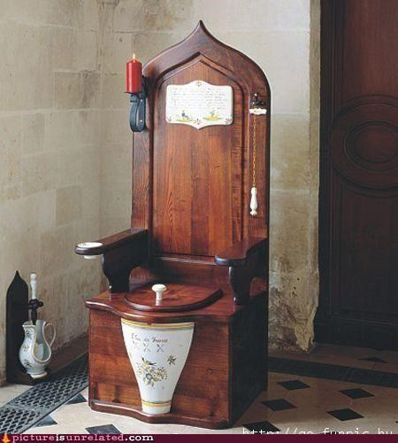 king potty throne toilet wtf - 4904186368