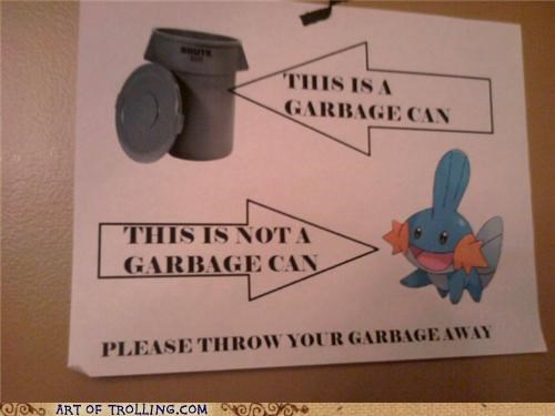 garbage can mudkip mudkipz - 4904528384
