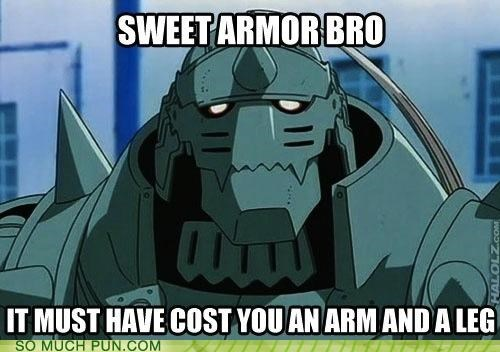 alchemy arm armor context double meaning ed fullmetal alchemist Hall of Fame inside joke leg literalism - 4904564992