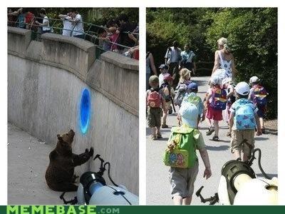 bear eating hungry kids Memes Portal video games zoo - 4904769024