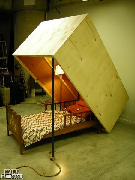 bed bedroom its a trap sleep trap - 4904907264