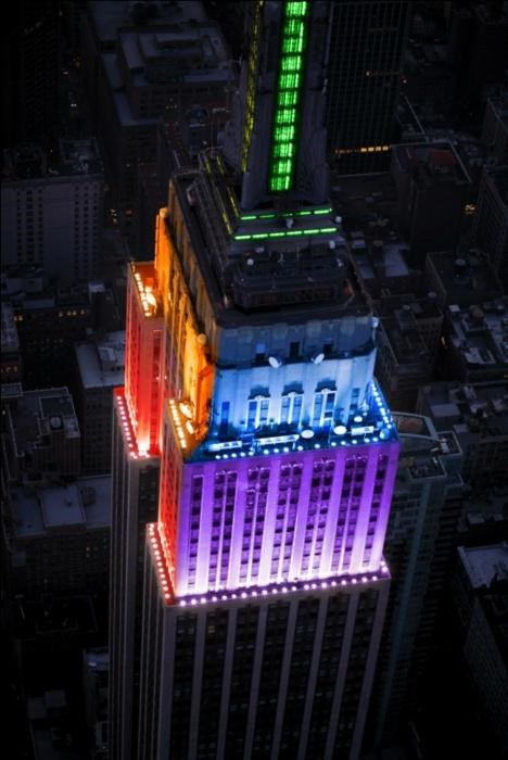 empire state building,LGBT rights,new york,Photo,same-sex marriage
