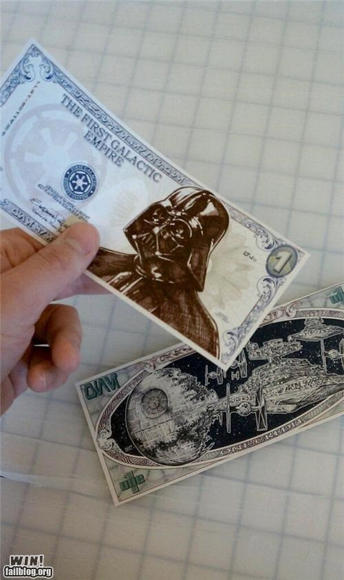 art,awesome,currency,money,nerdgasm,star wars
