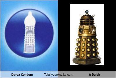 alien condom dalek doctor who durex Hall of Fame safe sex - 4906650880