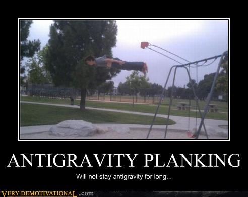anti gravity Planking swing Terrifying - 4907009280