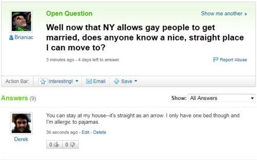 Looks Legit same-sex marriage yahoo answer - 4907529216
