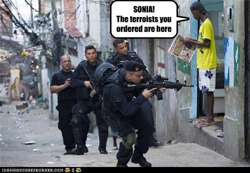 political pictures swat team troops