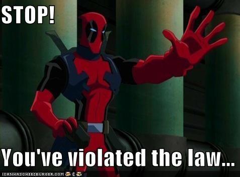 Stop Youve Violated The Law Superheroes Superheroes Batman