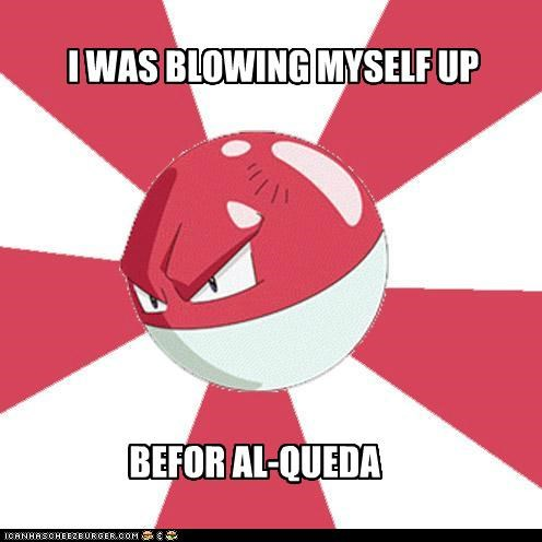I WAS BLOWING MYSELF UP BEFOR AL-QUEDA