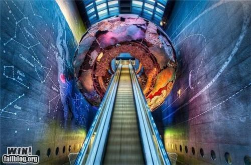 art awesome design escalator space - 4908745472