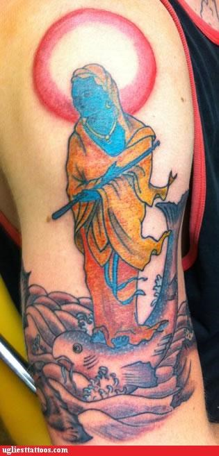 blue smurfs arm tattoos Avatar - 4909236736