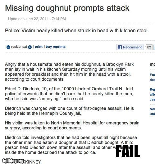 doughnuts failboat g rated overreaction Probably bad News - 4910202112