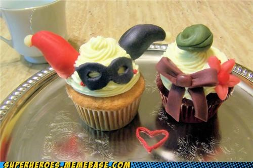 cupcakes delicious Harley Quinn joker - 4910408448