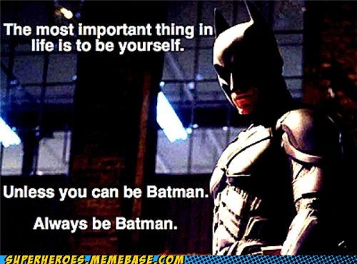 batman Be Yourself fact Super-Lols - 4910433536