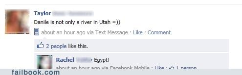 egypt denial nile river geography utah funny - 4910622976