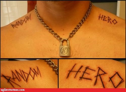 shoulder tattoos,random,heros