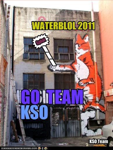 GO TEAM KSO WATERBLOL 2011 * \ \ \ Splat KSO Team