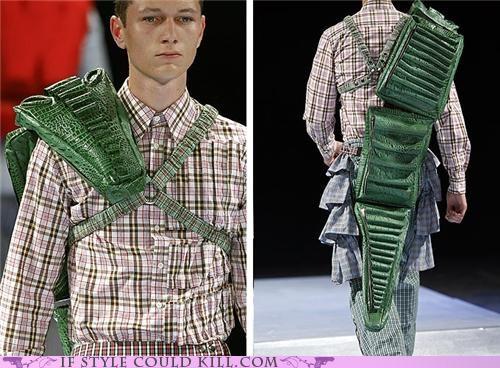 alligators backpacks cool accessories runway - 4911656704