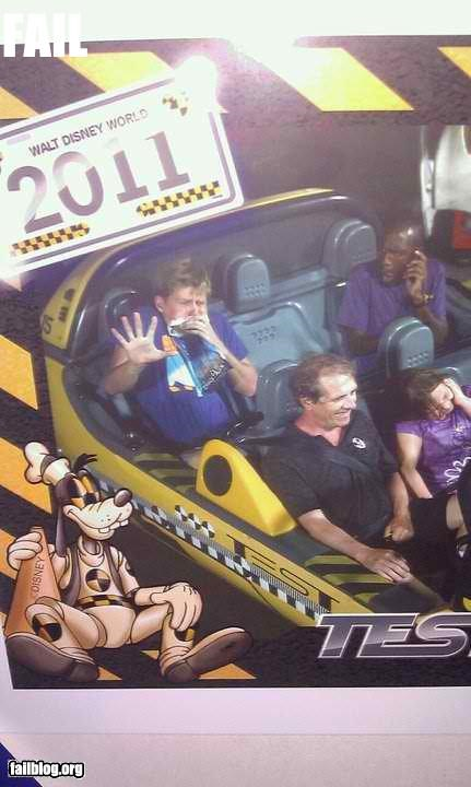 disney failboat g rated Hall of Fame Space Mountain summer fails vacation vomit - 4911991808