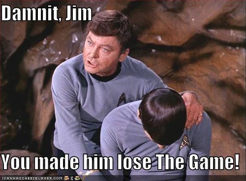 actor celeb DeForest Kelley funny Leonard Nimoy sci fi Star Trek TV - 4912371712